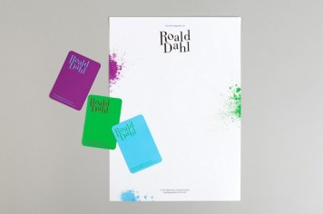 Roald Dahl stationery, by uk.moo.com