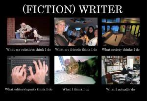 Fiction writers - what i do