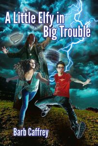 A Little Elfy in Big Trouble by Barb Caffrey | From the blog of Nicholas C. Rossis, author of science fiction, the Pearseus epic fantasy series and children's books