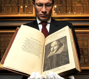 Shakespeare's First Folio | From the blog of Nicholas C. Rossis, author of science fiction, the Pearseus epic fantasy series and children's books