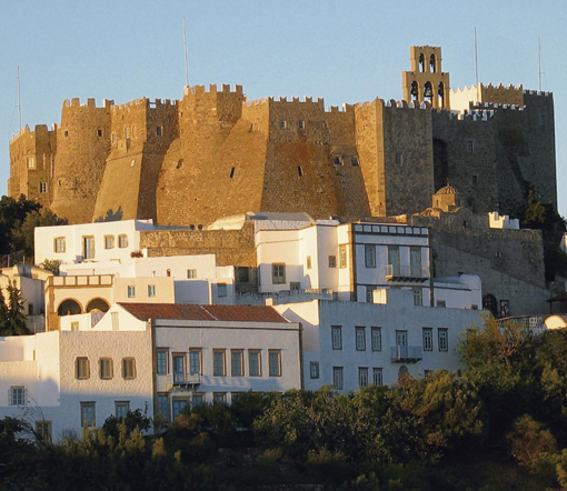 St. John Monastery, Patmos | From the blog of Nicholas C. Rossis, author of science fiction, the Pearseus epic fantasy series and children's books