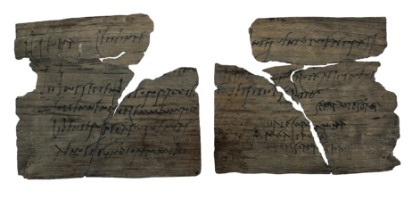 Ancient Roman writing tablet | From the blog of Nicholas C. Rossis, author of science fiction, the Pearseus epic fantasy series and children's books
