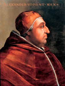 Pope Alexander VI | From the blog of Nicholas C. Rossis, author of science fiction, the Pearseus epic fantasy series and children's books