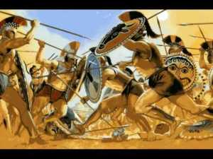 ancient Greek warfare | From the blog of Nicholas C. Rossis, author of science fiction, the Pearseus epic fantasy series and children's books