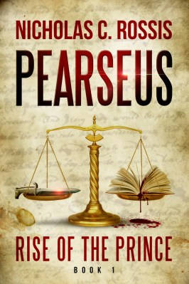 Pearseus: Rise of the Prince book cover | From the blog of Nicholas C. Rossis, author of science fiction, the Pearseus epic fantasy series and children's books
