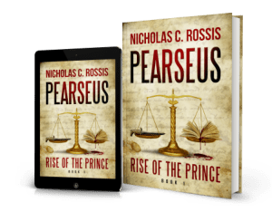 header image - Pearseus: Rise of the Prince | From the blog of Nicholas C. Rossis, author of science fiction, the Pearseus epic fantasy series and children's books