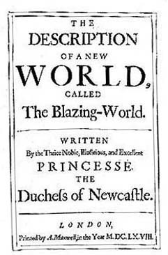 The Description of a New World by Lady Margaret Cavendish | From the blog of Nicholas C. Rossis, author of science fiction, the Pearseus epic fantasy series and children's books
