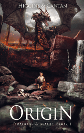 Origin by Dave Higgins and Simon Cantan | From the blog of Nicholas C. Rossis, author of science fiction, the Pearseus epic fantasy series and children's books