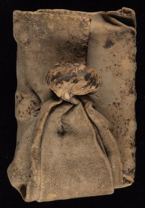 15th century book girdle, Yale, Beinecke Library. Photo via medievalbooks.nl
