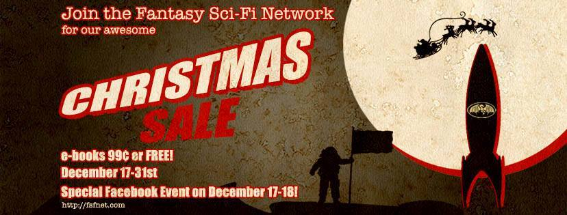 FSFNet Christmas Sale | From the blog of Nicholas C. Rossis, author of science fiction, the Pearseus epic fantasy series and children's books