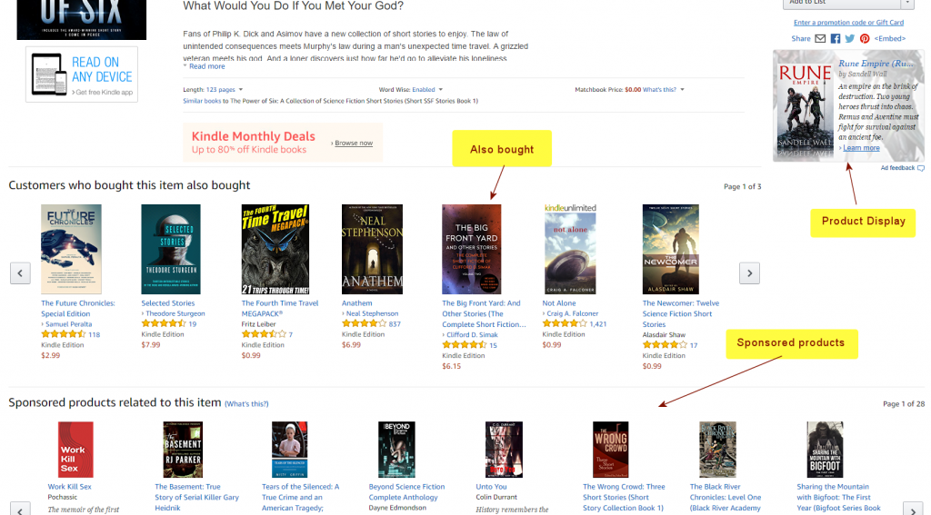 Advertising with Amazon (AMS) | From the blog of Nicholas C. Rossis, author of science fiction, the Pearseus epic fantasy series and children's books