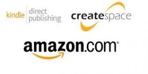 CreateSpace-Amazon logos | From the blog of Nicholas C. Rossis, author of science fiction, the Pearseus epic fantasy series and children's books