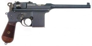 Mauser C-96 | From the blog of Nicholas C. Rossis, author of science fiction, the Pearseus epic fantasy series and children's book