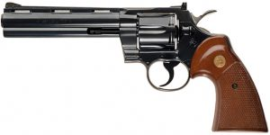Colt Python revolver   From the blog of Nicholas C. Rossis, author of science fiction, the Pearseus epic fantasy series and children's books