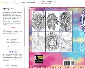 Diania Animal coloring book error | From the blog of Nicholas C. Rossis, author of science fiction, the Pearseus epic fantasy series and children's book