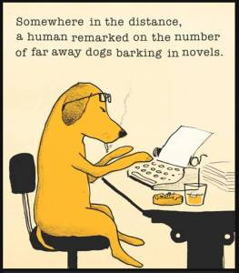 Reading dog | From the blog of Nicholas C. Rossis, author of science fiction, the Pearseus epic fantasy series and children's books