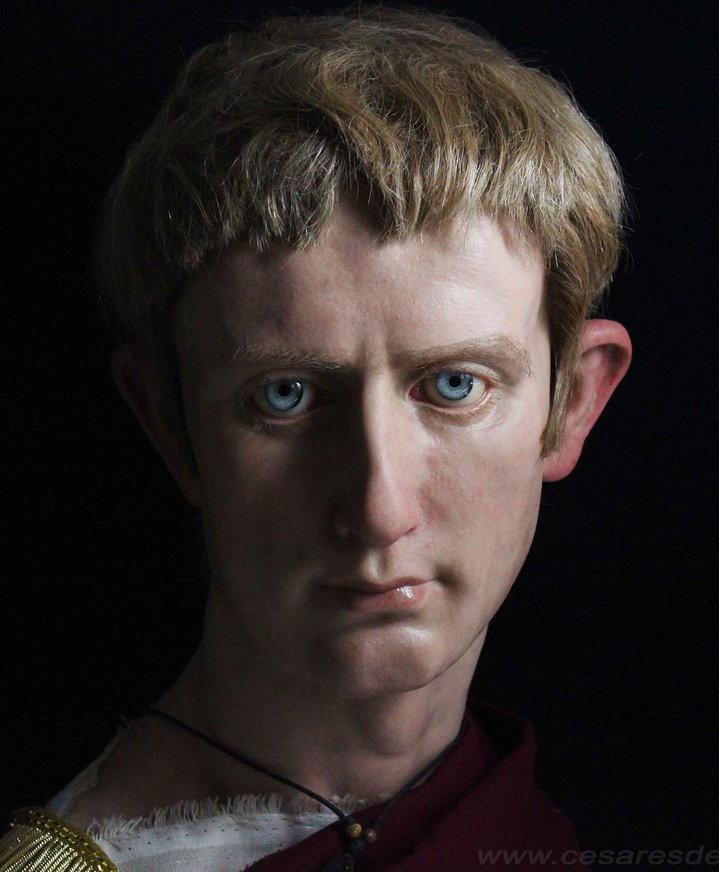 Emperor Octavian Augustus | From the blog of Nicholas C. Rossis, author of science fiction, the Pearseus epic fantasy series and children's books