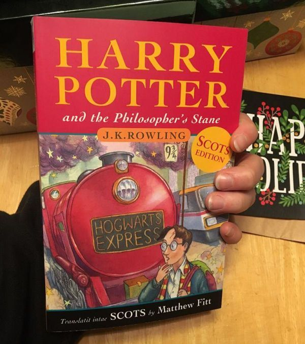 Harry Potter, Scots edition | From the blog of Nicholas C. Rossis, author of science fiction, the Pearseus epic fantasy series and children's book
