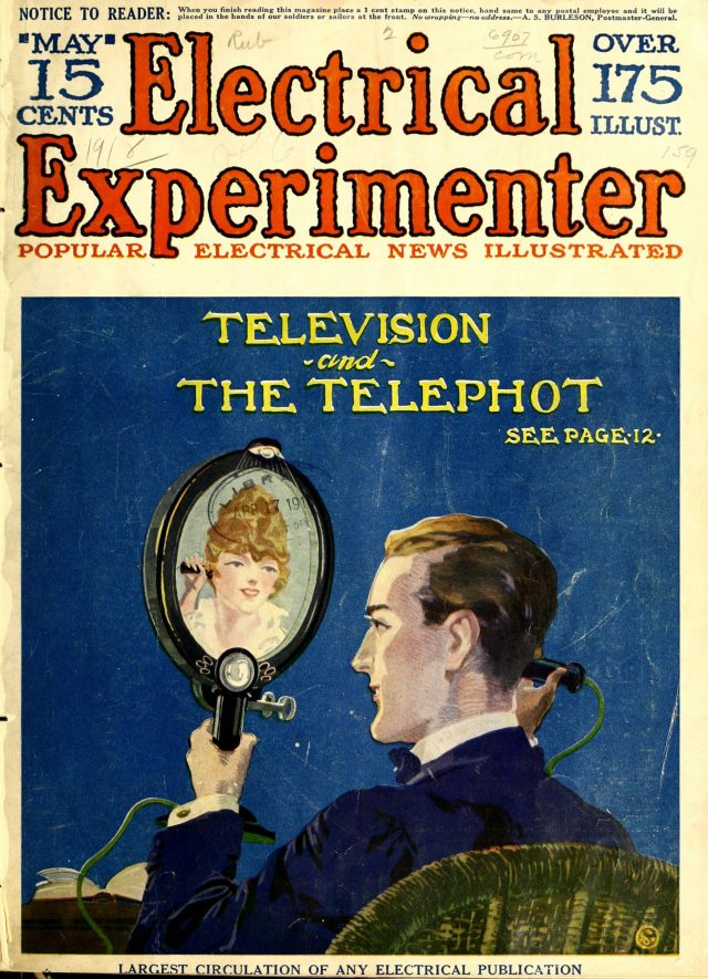 1918 telephot | From the blog of Nicholas C. Rossis, author of science fiction, the Pearseus epic fantasy series and children's books
