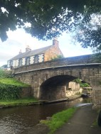 From the canal below