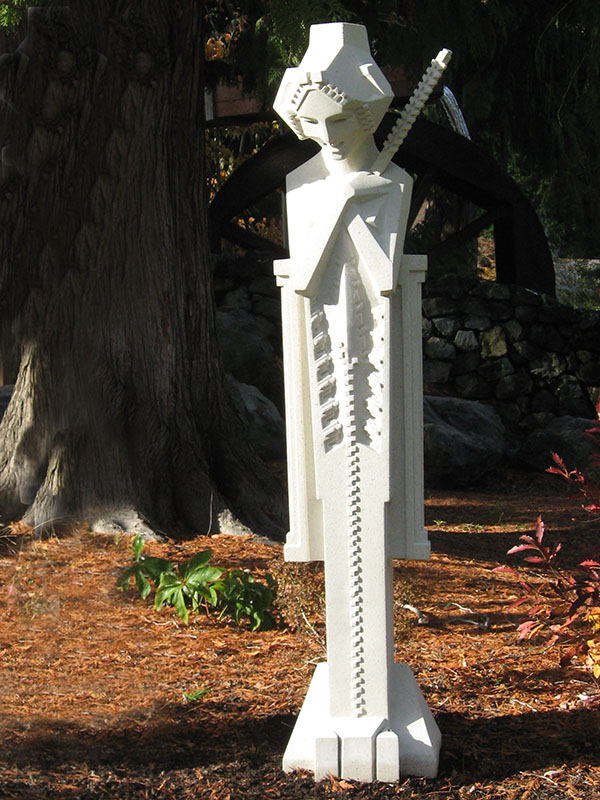 Midway Gardens Sprite with Baton