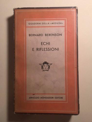 Cover of Berenson's Echi e Riflessioni