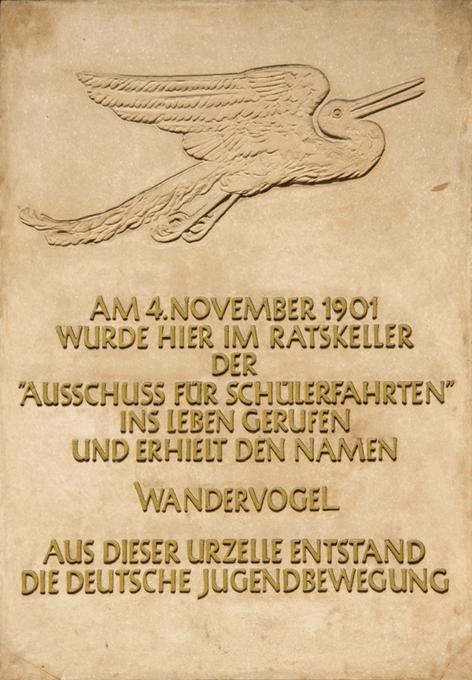 Wandervogel-Gedenktafel (Foto: Wribln)