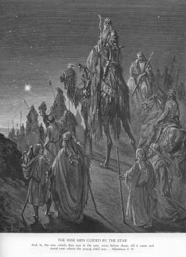 Doré und der Stern der Weisen. Kalenderblatt