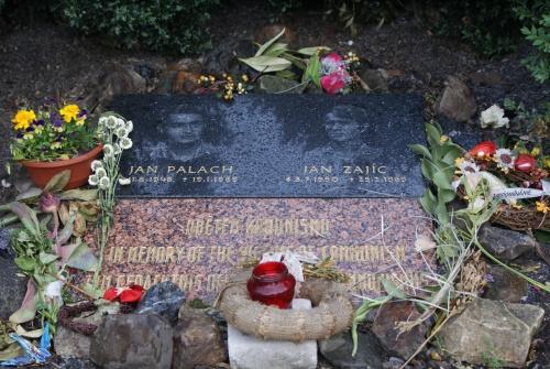 Gedenktafel für Jan Palach