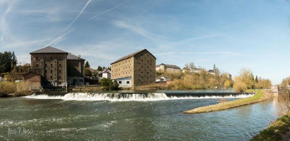 Schleuse mit Löhnberger Mühle