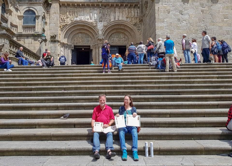 Jakobsweg: Angekommen in Santiago de Compostela