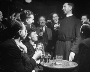 Buy a priest a beer