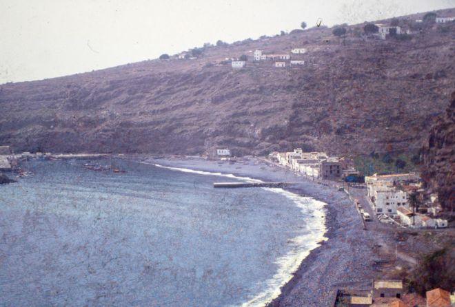 Playa Santiago früher