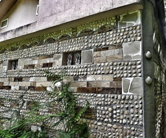 Galicische Hauswand