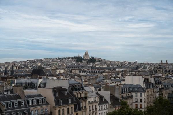 Blick auf Sacré-Cœur