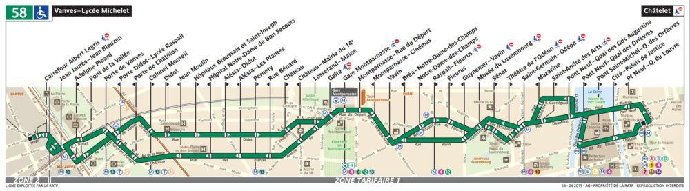 Buslinie 58
