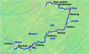 Die Sage vom Wotansfelsen und Burg Laurenstein. Die Lahn erwandern: Von Balduinstein nach Laurenburg