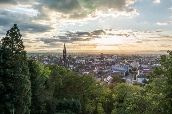Blick auf das Münster