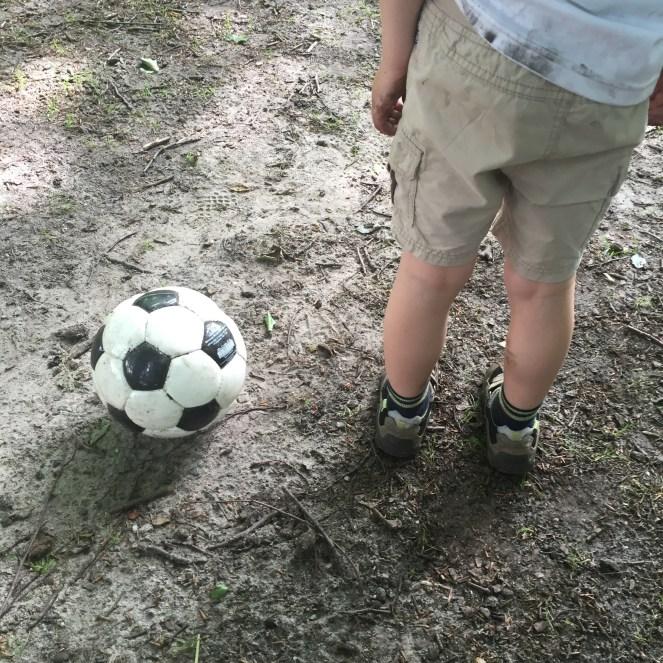 Beim Fußball I.