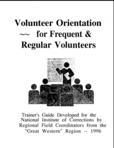 Volunteer Orientation for Frequent and Regular Volunteers