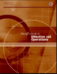 Jail Administration  National Institute of Corrections