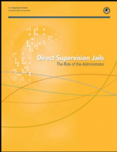 Direct Supervision Jails  National Institute of Corrections