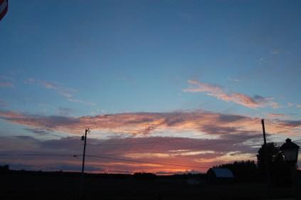 Sunset May 31, 2013