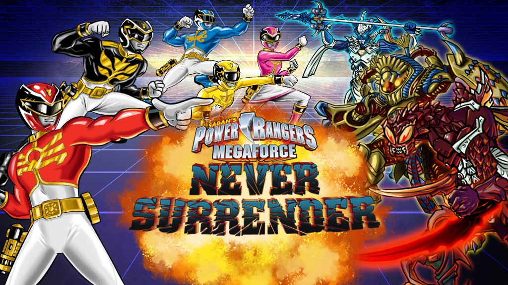Power Rangers Megaforce Never Surrender  Free Games for