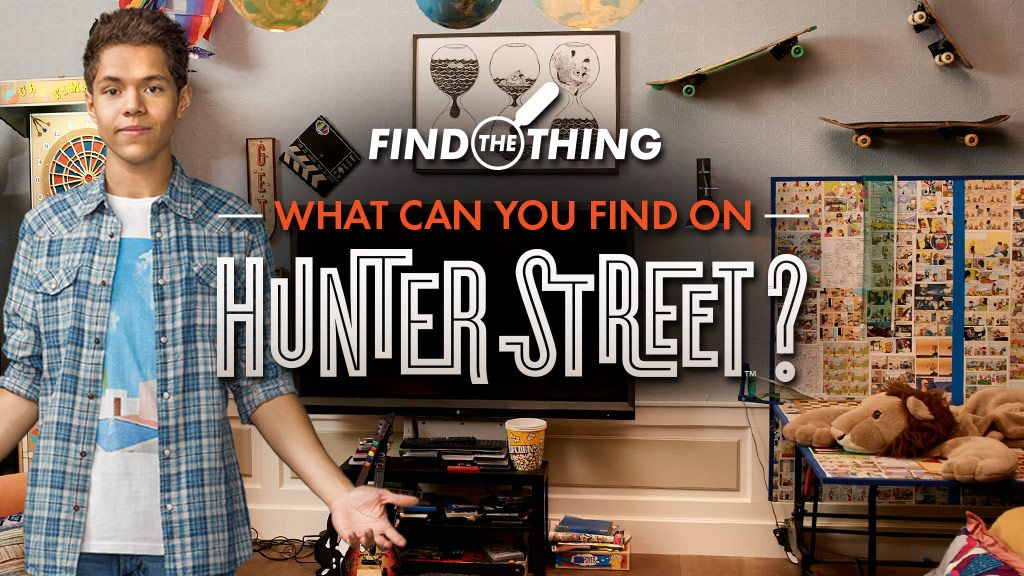 Hunter Street What Can You Find on Hunter Street Puzzle Game