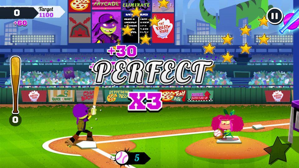 nickelodeon baseball stars sports