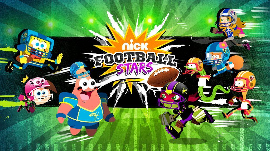 Nickelodeon Football Stars Sports Game  Nickelodeon