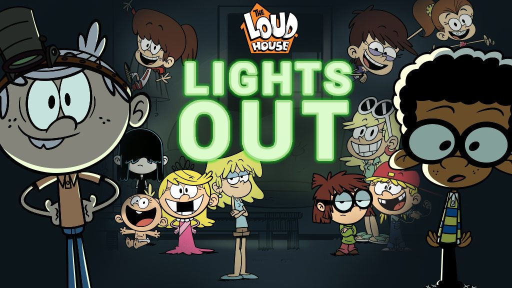 Loud House Lights Out Puzzle Game Nickelodeon