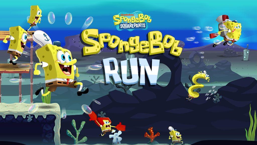 spongebob run nickelodeon