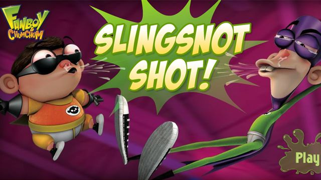 Fan Boy and Chum Chum  Slingsnot Shot  NickAsiacom